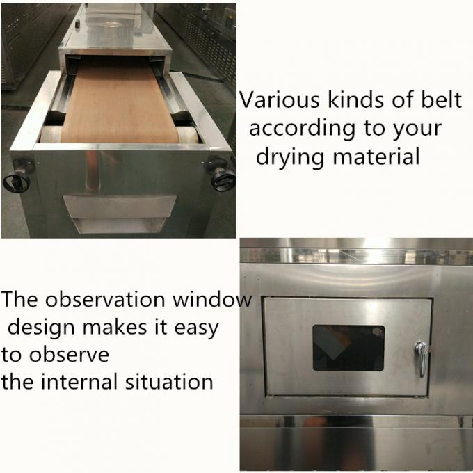 Uniform Heating Industrial Microwave Machine High Efficiency For Minerals