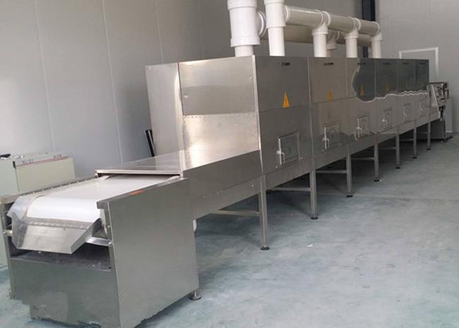 Chemical Material Industrial Microwave Drying Machine Low Temperature Sterilization