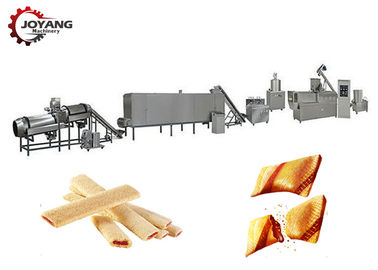 Core Filled Puffed Snacks Processing Line Inverter Speed