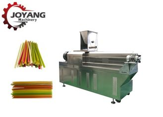 100kg/h Biodegradable Drinking 40kw Rice Straw Processing Line