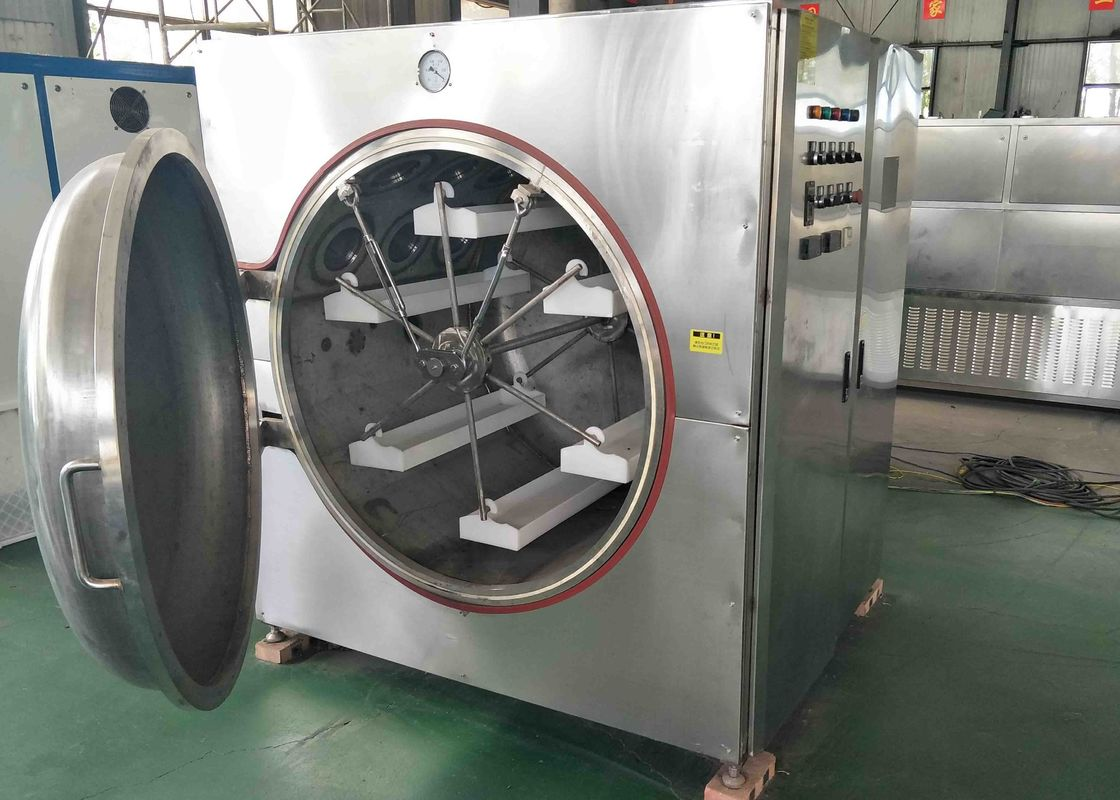 Silver Vacuum Drying System , Microwave Drying Equipment Good Control Ability