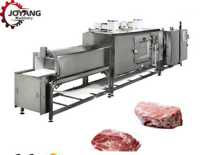 Stainless Steel Beef Thawing Machine 120 - 1800kg/h Large Capacity