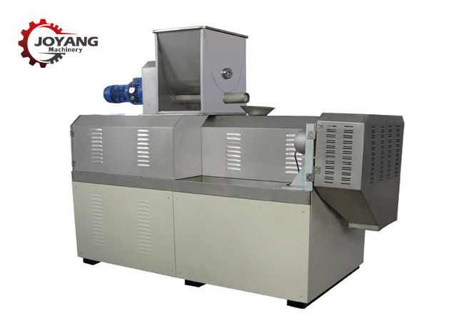 SS Material Corn Puff Making Machine , Puffed Food Machine With Flavoring System