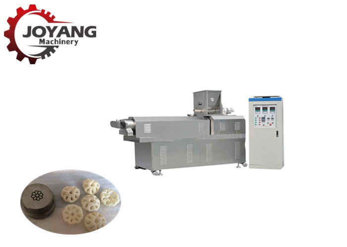 Flower Type Puffed Corn Snack Making Machine Food Extruder Machine 150 KG Capacity