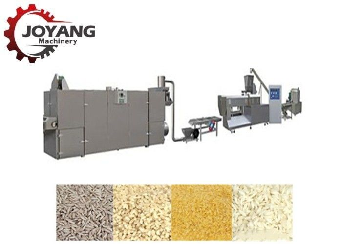 Stainless Artificial Rice Making Machine , Grain Processing Machine CE Certification
