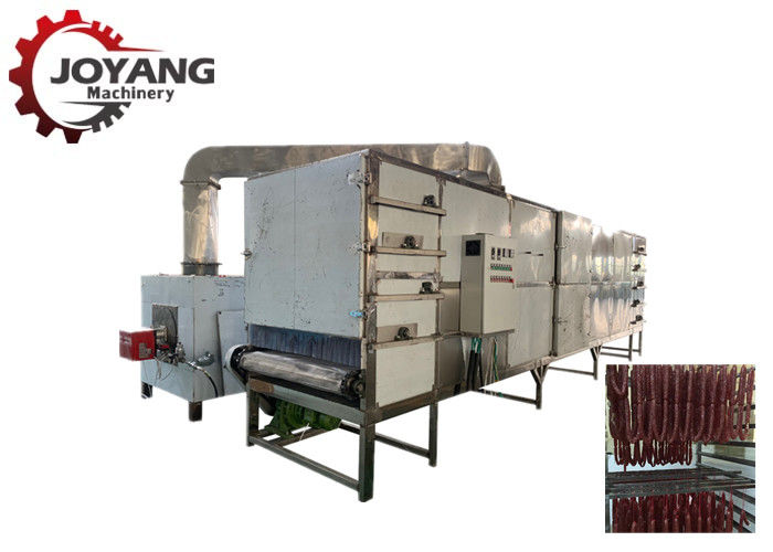 SUS304 Hot Air Meat Drying Machine  Preserved Products Sausage Dryer Machine