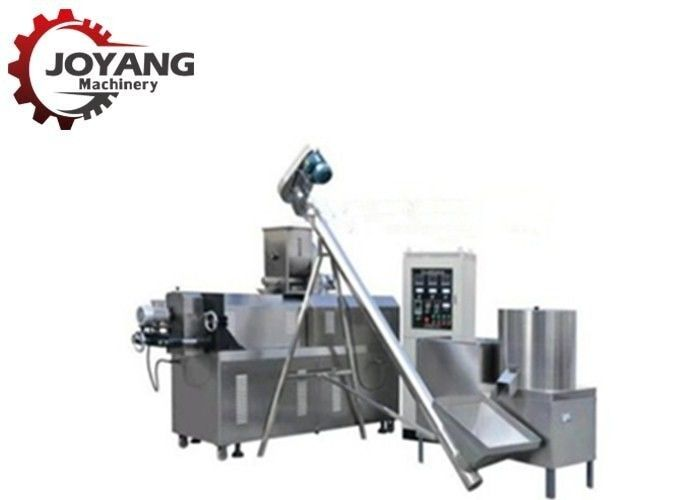 Fully Automatic Dog Food Extruder Processing Machine One Year Warranty