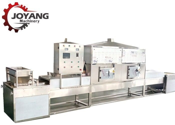 Stainless Steel Industrial Microwave Equipment Chamomile Drying And Fixing
