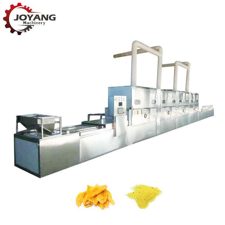 Industrial Natural Saffron Cleanness Microwave Drying Machine With Long Life Time