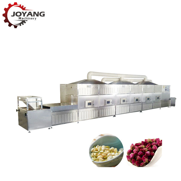 Industrial Microwave Fruit Tunnel Type Dryer Machine Grains Beans Curing