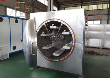 China Modular Structure Microwave Vacuum Dryer Machine 2450±50MHz Microwave Frequency factory