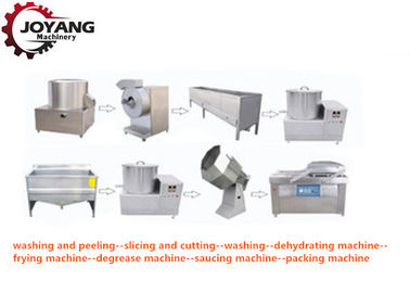 Small Scale Automatic Potato Chips Making Machine Electric Heating Method