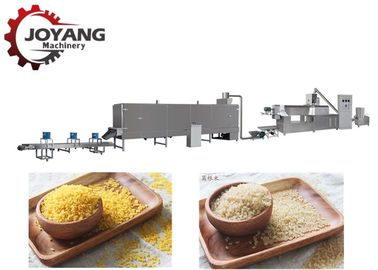 Low Noise Artificial Rice Processing Line , Fortified Rice Kernel Production Line