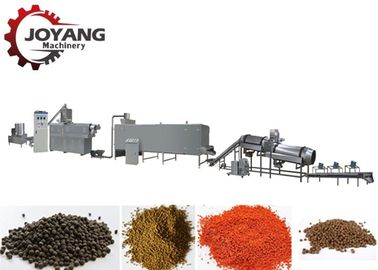 Aquaculture Fish Feed Production Line Floating Fish Feed Manufacturing Machinery