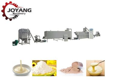 China Twin Screw Corn Starch Processing Plant Instant Porridge Baby Food Nutritional Powder factory