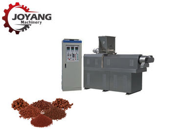 Fast Speed Pet Food Production Line , Animal Feed Making Machine For Pellet
