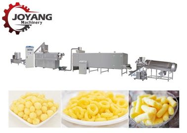 Easy To Use Snack Production Line Puff Extruder Machine 1 Year Warranty