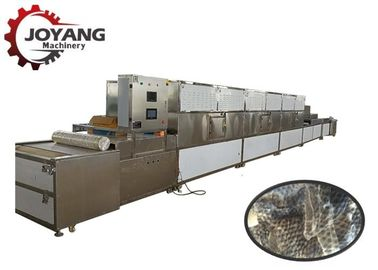 High Frequency Induction Industrial Microwave Heating Fish Skin Drying Machine