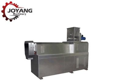 Twin Screw Conveyor Pet Food Production Line , Low Noise Dog Food Machine