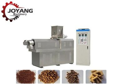 Twin Screw Conveyor Floating Fish Feed Extruder Machine Fully Automatic