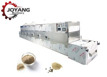SS Microwave Drying Technology Spice Pepper Dryer Powder And Sterilization Machine