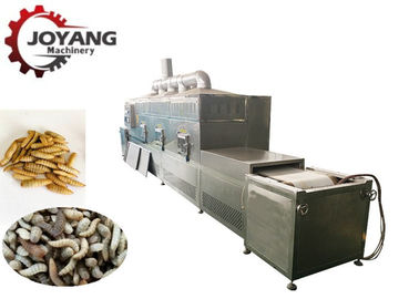 China Low Noise Industrial Microwave Equipment Black Soldier Fly Larva Drying factory