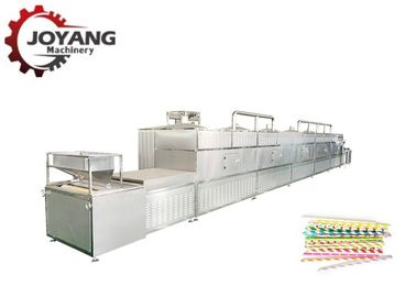 Industrial Belt Type Microwave Drying Technology Paper Straw Dehydration Equipment
