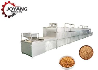 Coriander Seeds Microwave Drying And Sterilization Machine Plc Control System