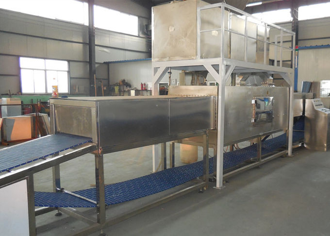 Continuous Tunnel Type Food Thawing Machine 25 - 100KW Power JY-100KWSP